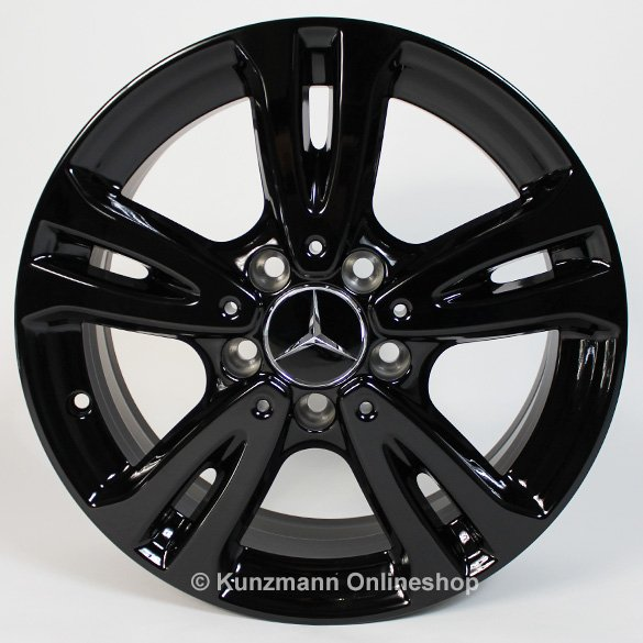 Mercedes benz 16 inch rims set cla class w117 5 twin for Mercedes benz used rims for sale