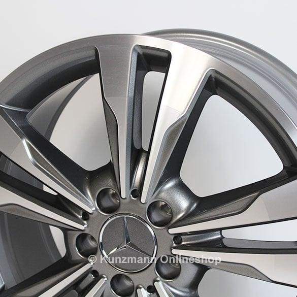 Genuine Mercedes Benz 5 Double Spoke Rims For Cla Class