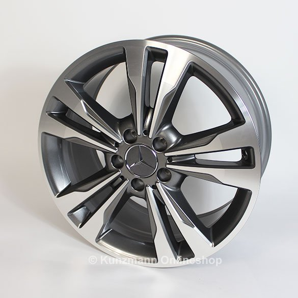 Genuine Mercedes Benz 5 Double Spoke Rims For Cla Class