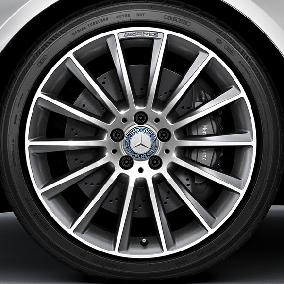 Amg 19 inch alloy wheel set multi spoke wheel aluminum for Mercedes benz wheel
