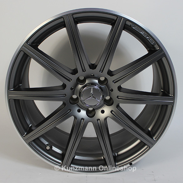 Cls 63 amg 19 inch alloy wheel set 10 spoke alloy wheels for Mercedes benz 19 inch amg wheels