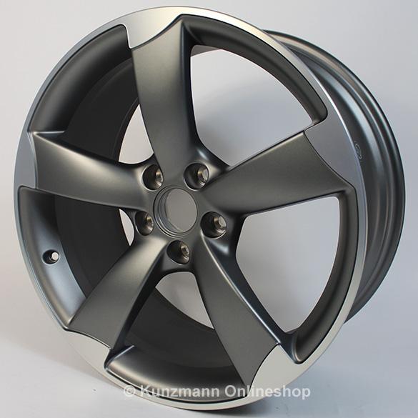 Audi Rotor Felgen Satz 8 5x19 Anthrazit Audi A4