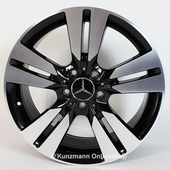 Original Mercedes Benz 5 Doppel Speichen Felgensatz A