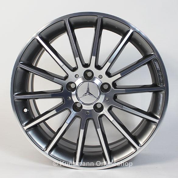 Amg 18 inch rim set a class w176 multispoke rims for Mercedes benz 18 inch rims