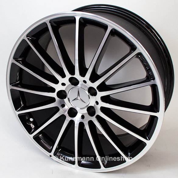 Amg 19 inch wheel set a class 250 sport w176 original for Mercedes benz 19 inch amg wheels