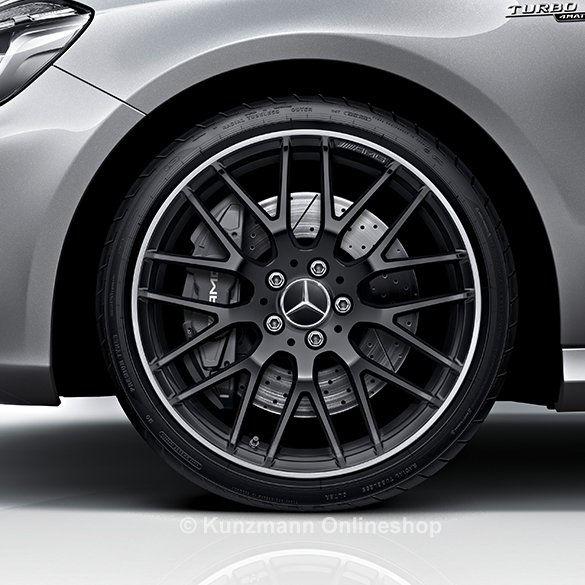 AMG 19 inch rim set A-Class W176 cross spoke design A45 ...