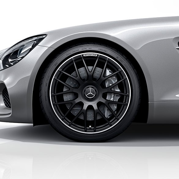 Amg 19 20 inch forged wheel amg gt c190 cross spoke for Mercedes benz 19 inch amg wheels