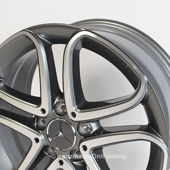 Genuine mercedes benz b class w246 5 double spoke rims for Mercedes benz genuine wheels