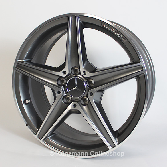 Amg 18 inch summer complete wheels c class coup c205 for Mercedes benz original wheels