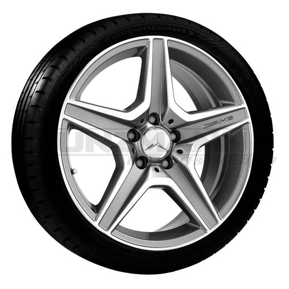 Amg Alloy Wheels Complete Wheels Mercedes Benz C Class