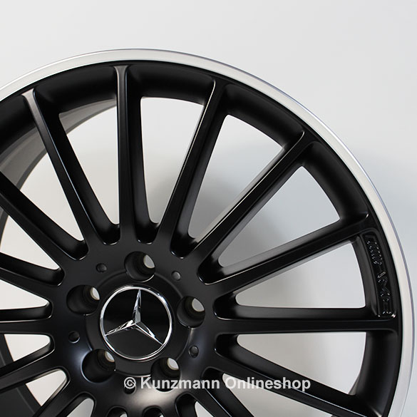 Amg 19 inch summer complete wheels c class w204 multi for Mercedes benz 19 inch amg wheels