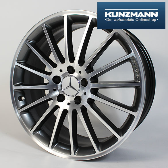 C 63 amg 19 inch summer complete wheels c class w204 for Mercedes benz 19 inch amg wheels