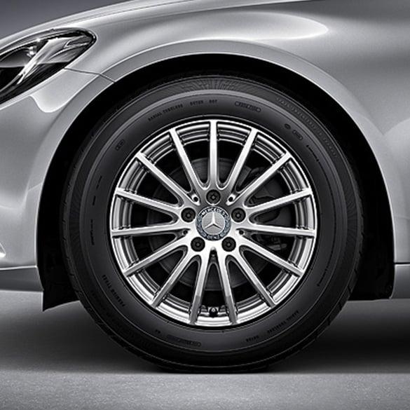 Mercedes benz 16 inch rims set of c class w205 multi for Mercedes benz 18 inch rims