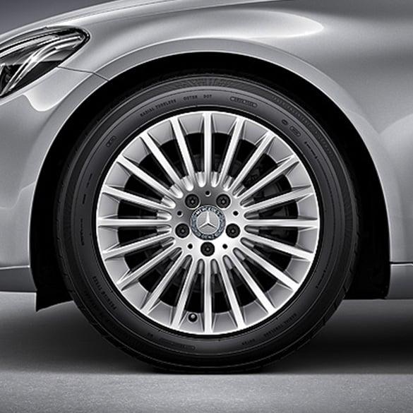 Amg  Spoke Wheels Painted Black