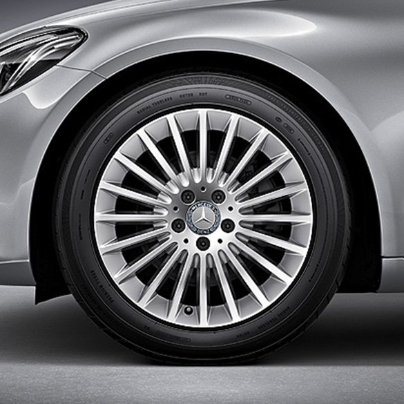 Mercedes benz 17 inch rims set of c class w205 multi for Mercedes benz c class rims