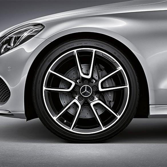 Amg 19 Inch Alloy Wheel Set Mercedes Benz C Class W205