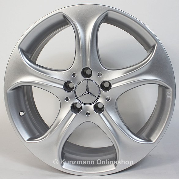 Mercedes benz 18 inch rims set of c class w205 5 spoke for Mercedes benz 18 inch rims