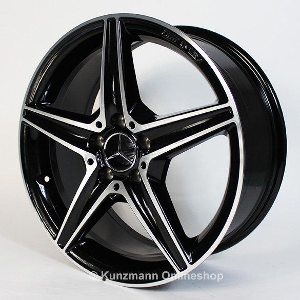 Amg 18 inch alloy wheel set mercedes benz c class w205 for Mercedes benz mag wheels