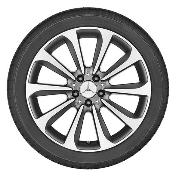 Mercedes Benz 19 Zoll Felgensatz C Klasse W205 10