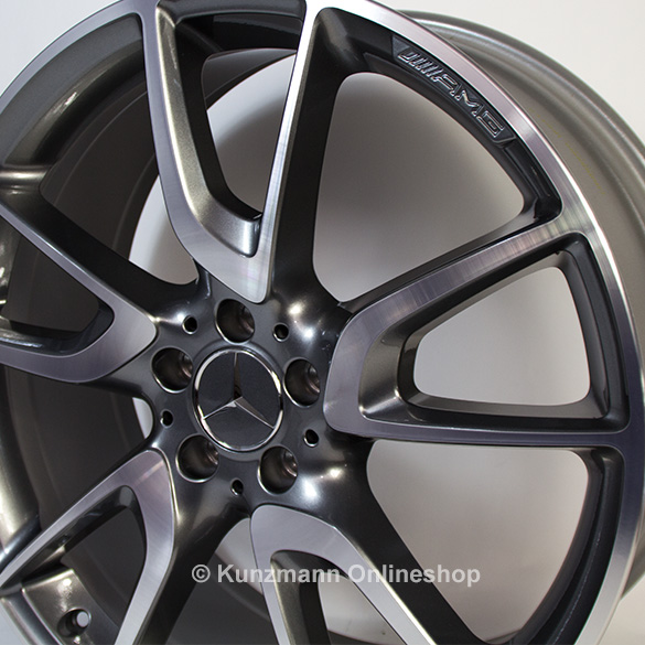 Amg 19 inch aluminium rim set mercedes benz c class w205 c for Mercedes benz 19 inch amg wheels