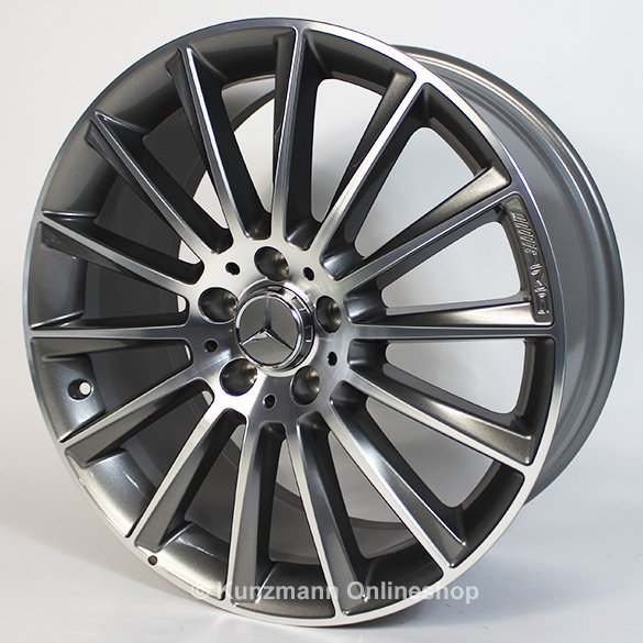 amg   alloy wheel set mercedes benz  class
