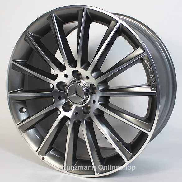 C 43 amg 19 inch alloy wheel set mercedes benz c class for Mercedes benz 19 inch rims