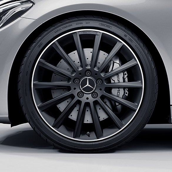 c 43 amg 19 inch alloy wheel set mercedes benz c class