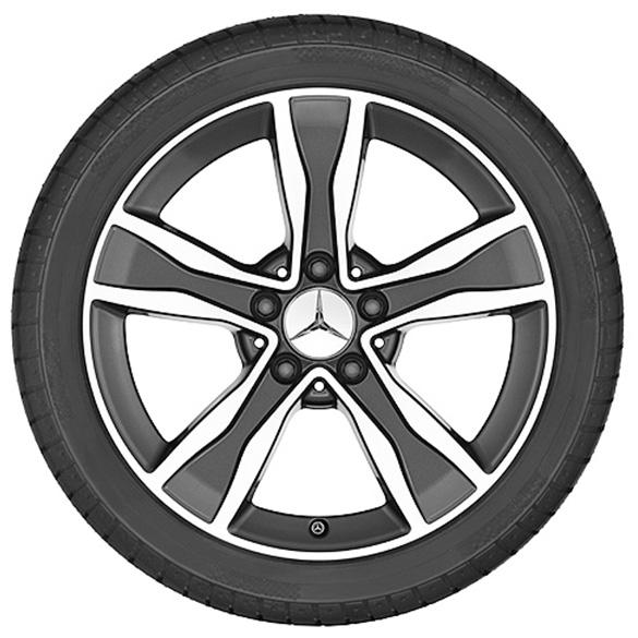 c class w205 snow wheels 17 inch runflat genuine mercedes benz