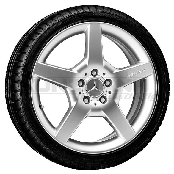 Amg light alloy wheels complete wheel styling 3 iii for Mercedes benz amg rims for sale