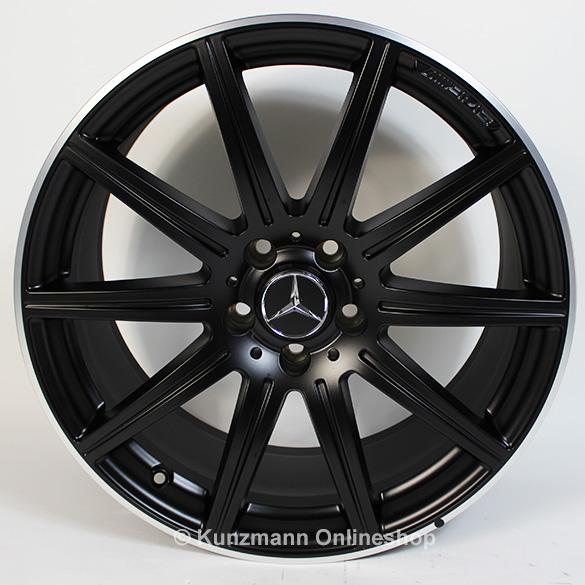 Cls 63 amg 19 inch alloy wheel set 10 spoke alloy wheels for Mercedes benz 19 wheels
