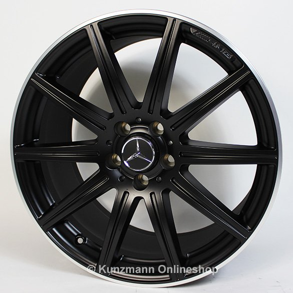 Cls 63 amg 19 inch alloy wheel set 10 spoke alloy wheels for Mercedes benz amg rims for sale