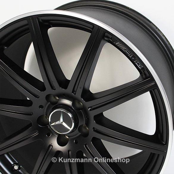 Cls 63 amg 19 inch alloy wheel set 10 spoke alloy wheels for Mercedes benz mag wheels