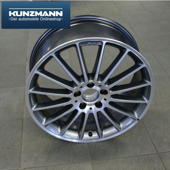 Amg styling v light alloy wheels with tires 19 inch for Mercedes benz 19 inch amg wheels