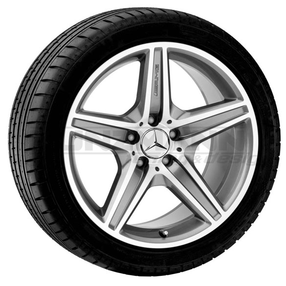 AMG 18-inch light-alloy wheels complete wheel