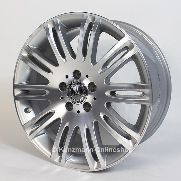 mercedes benz light alloy wheels 10 double spoke 18 inch. Black Bedroom Furniture Sets. Home Design Ideas