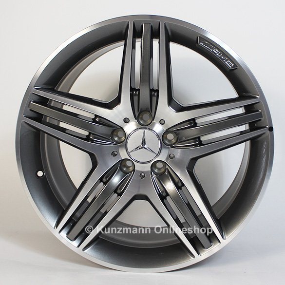 Amg alufelgen triplespeichen design mercedes benz e for Mercedes benz 19 inch amg wheels