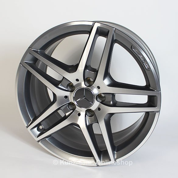 Amg 18 inch alloy wheel set e class w212 original for 24 inch mercedes benz rims