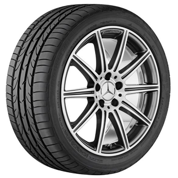 E 63 amg 18 inch alloy wheel set 10 spoke design alloy for Mercedes benz amg alloy wheels