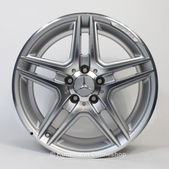 Amg 18 inch alloy wheel set e class w212 original for Mercedes benz mag wheels