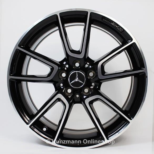 E43 amg 20 inch alloy wheel set mercedes benz e class w213 for Mercedes benz 20 inch rims