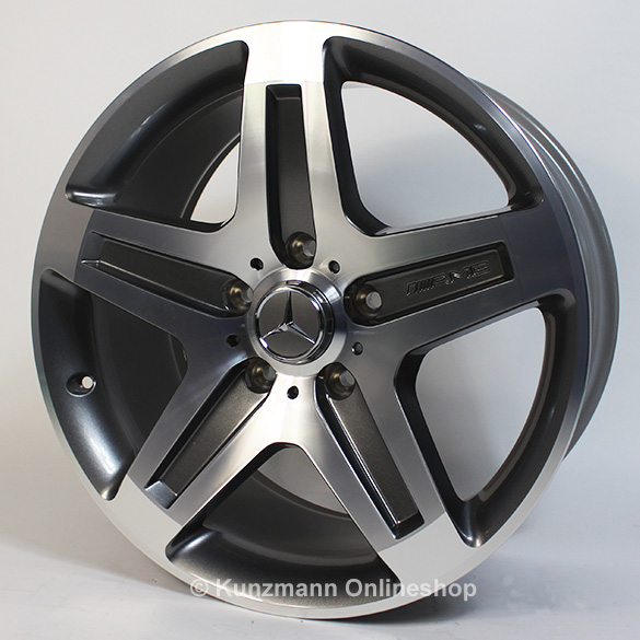 G 55 amg 19 inch alloy wheel set g class w463 5 spoke for Mercedes benz 19 inch amg wheels