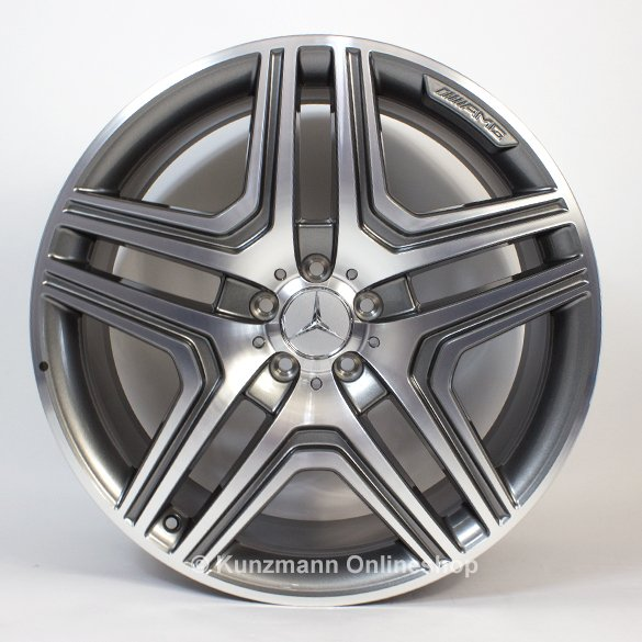 AMG 21-inch wheels set 5-twin-spoke design GL-Class X166 ...