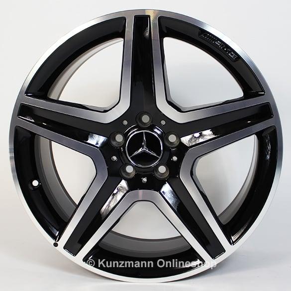 Mercedes Rims For Sale >> AMG 19-inch light alloy wheel set | GLA X156 | 5-spoke wheel | black