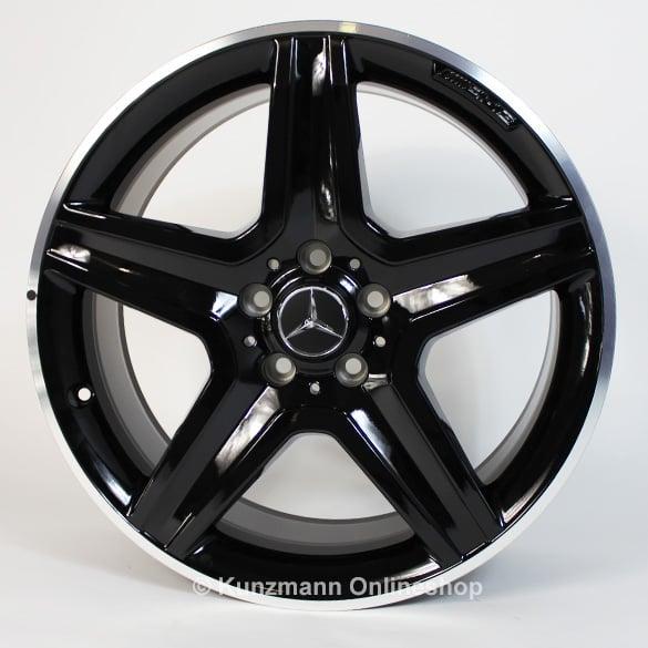 Amg 19 inch light alloy wheel set mercedes benz gla x156 for Mercedes benz 19 wheels