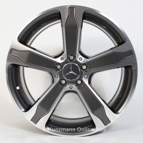 5 Spoke Rim Set 19 Inch Gla X156 Genuine Mercedes