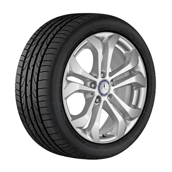 Snow wheels 1 set 17 inch glc suv x253 genuine for Mercedes benz tire chains
