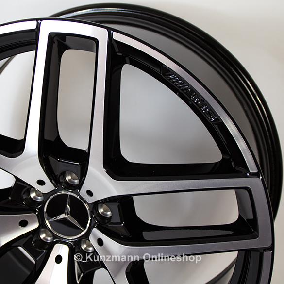 Mercedes Benz Gle Coupe >> GLE Coupe AMG 21 Zoll Felgensatz 5-Doppel-Speichen-Design ...