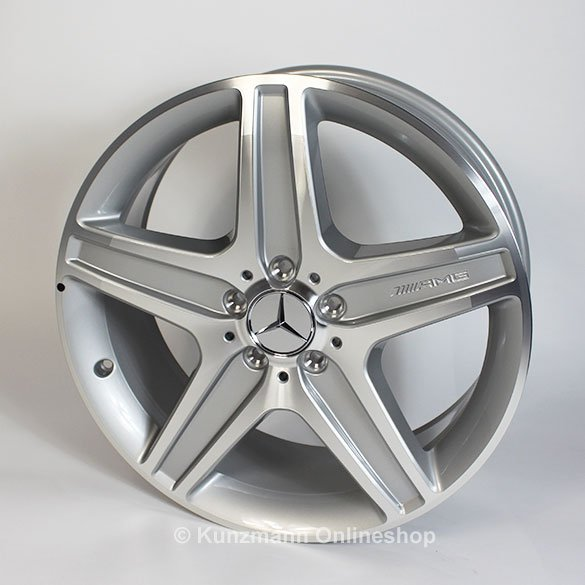 Amg 19 inch rim set glk class x204 original mercedes benz for Mercedes benz 19 inch amg wheels