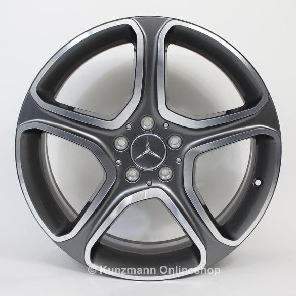 19 inch wheels set 5 spoke wheel glk x204 genuine for Mercedes benz 19 wheels