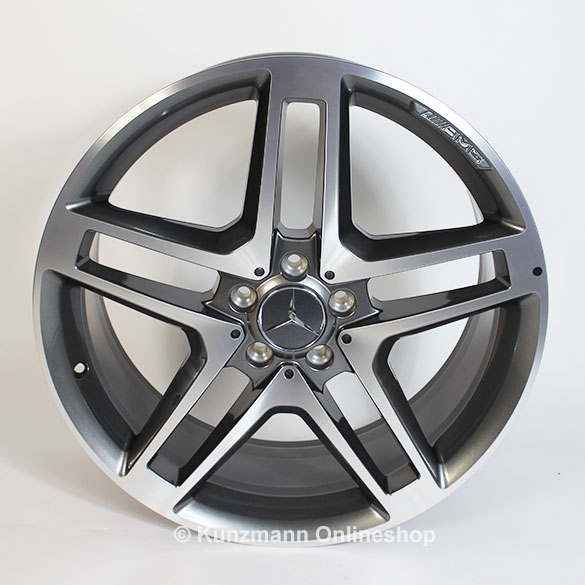 Amg 20 inch rim set glk class x204 original mercedes benz for Mercedes benz 20 inch wheels